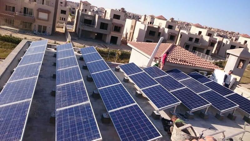 الطاقة الشمسية للمنازل في مصر
