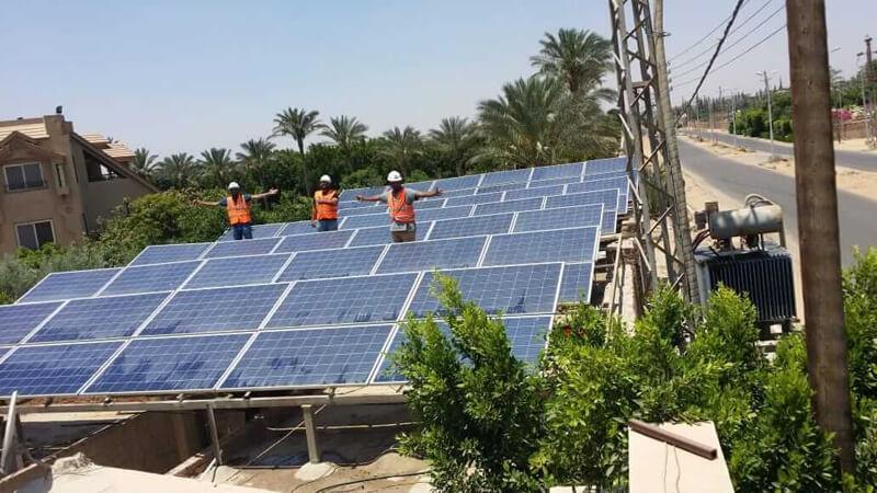 محطات-الطاقة-الشمسية-في-مصر