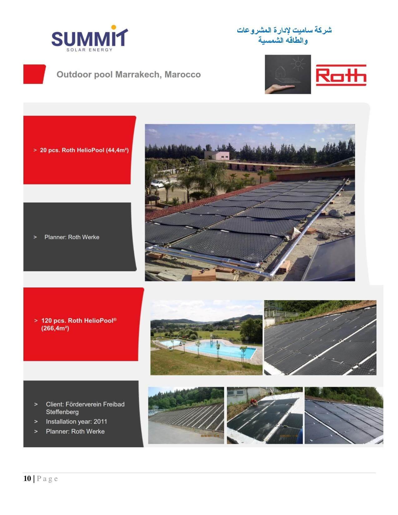 شركة ساميت لادارة المشروعات والطاقة الشمسية