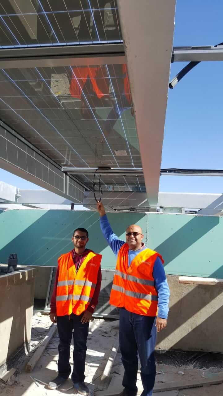 تنفيذ انظمة طاقة شمسية للمنازل