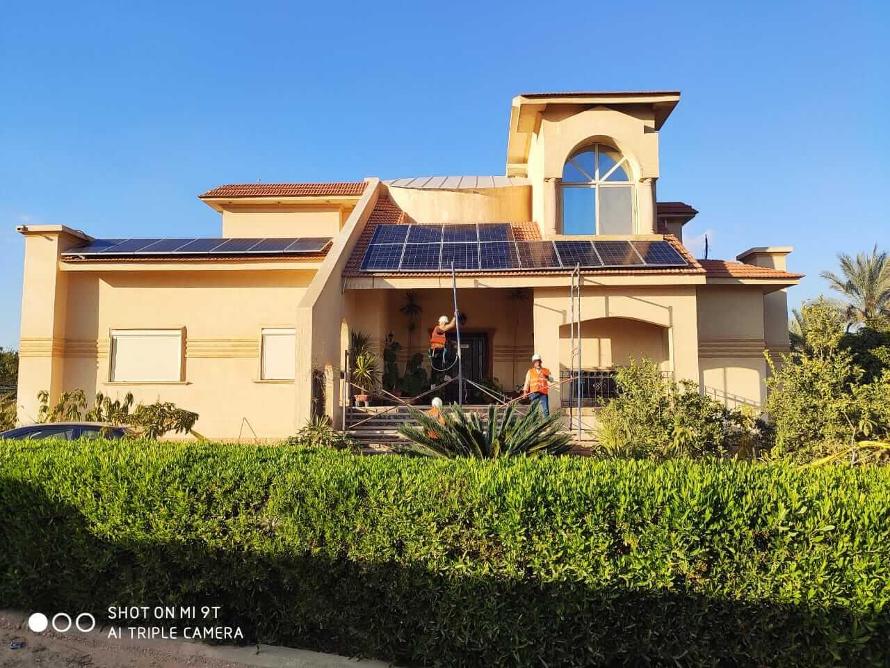 انظمة طاقة شمسية للمنازل 2020