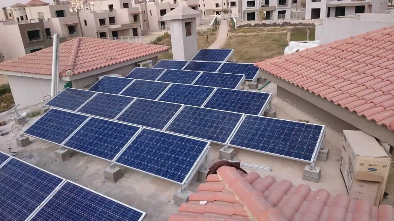 انظمة طاقة شمسية للمنازل