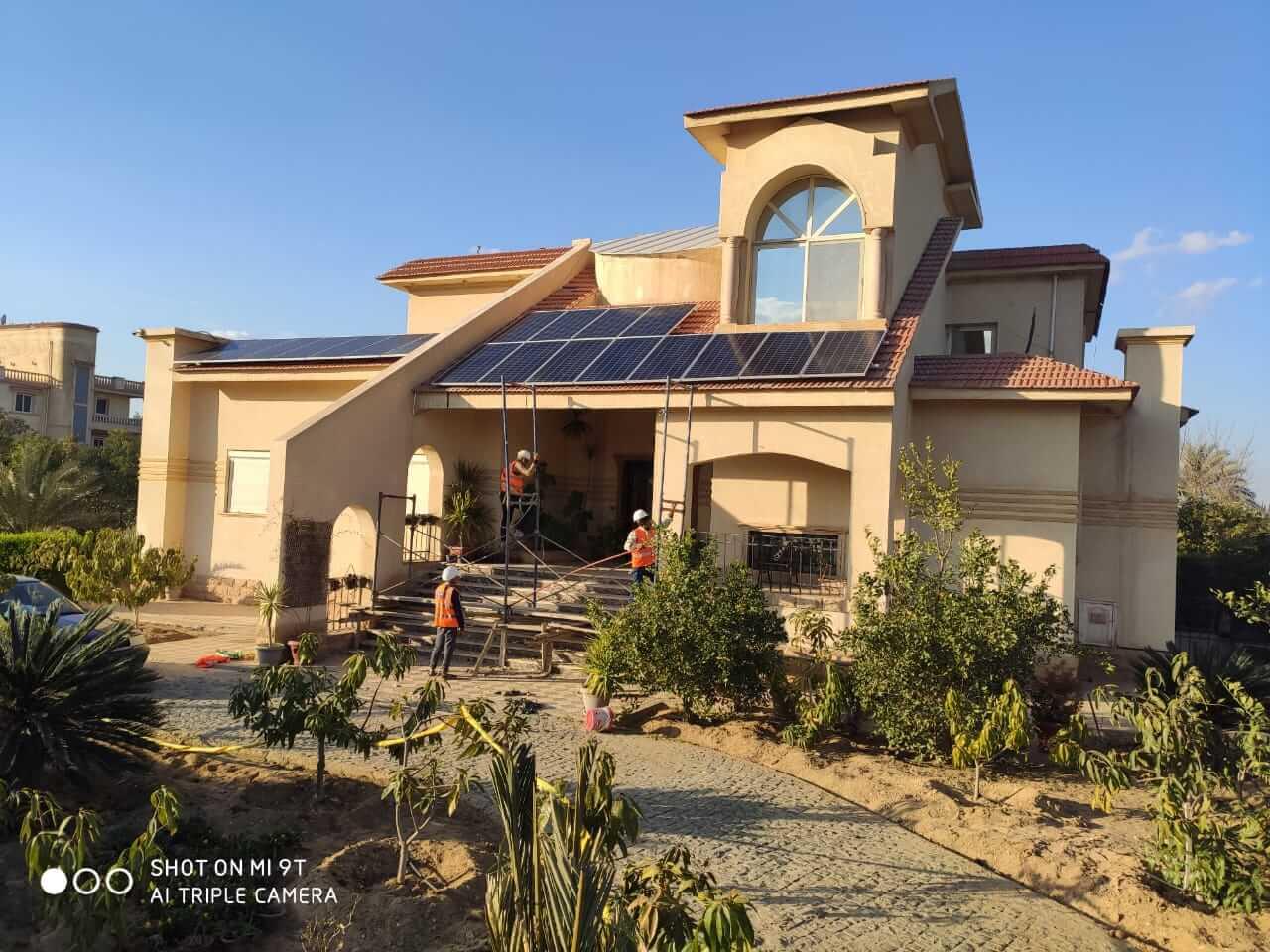 تركيب محطات طاقة شمسية في مصر