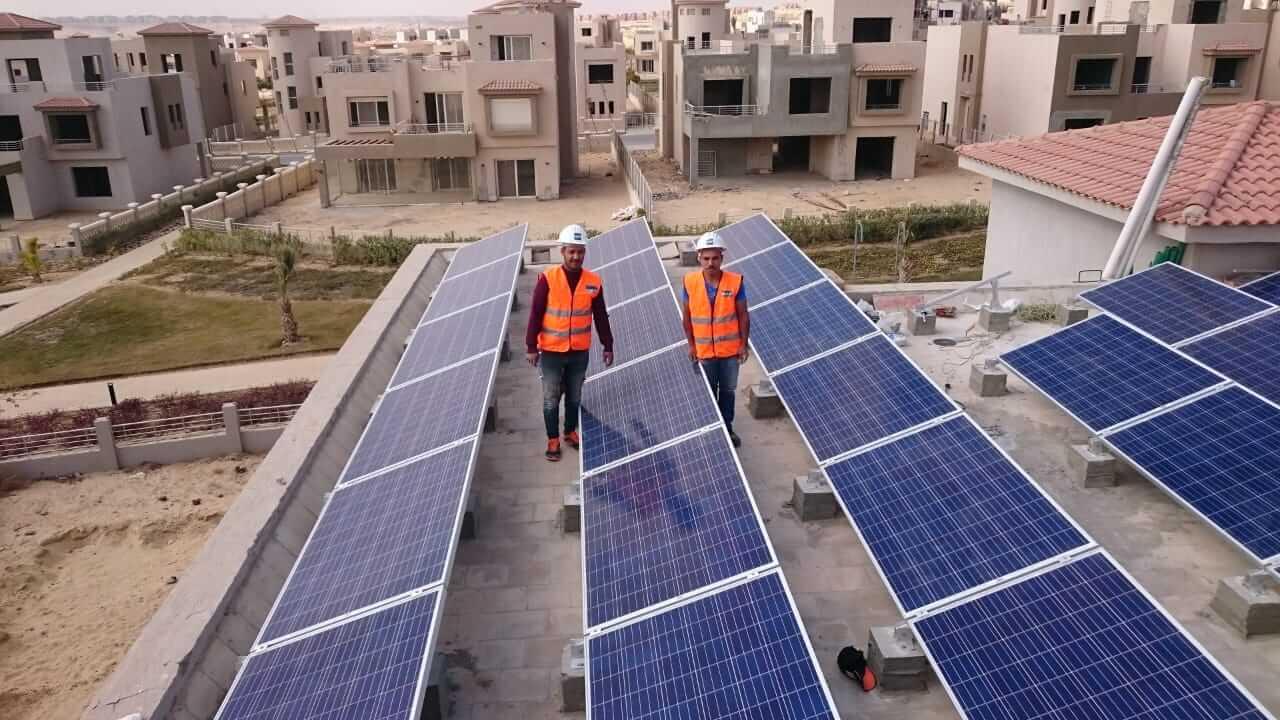 تركيب انظمة الطاقة الشمسية للمنزل